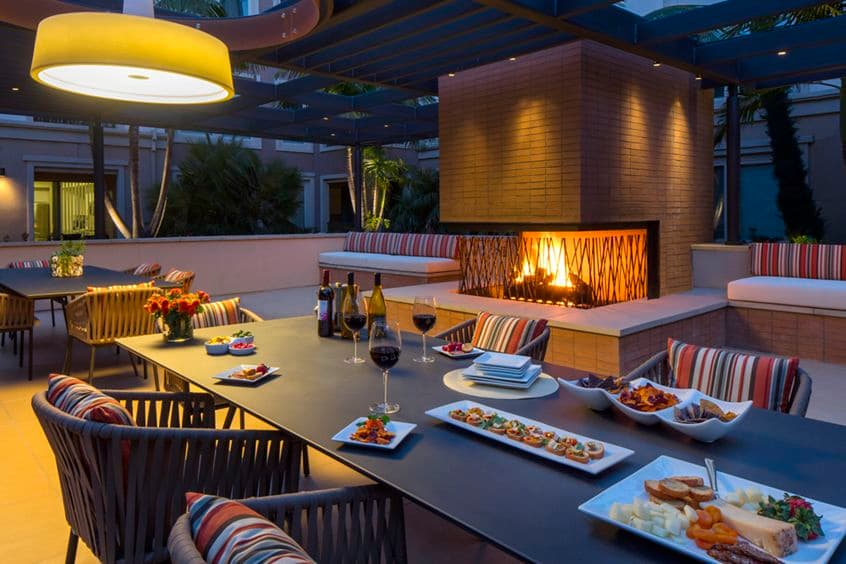 Exterior views at Malibu - Villas Playa Vista Apartment Homes in Los Angeles, CA.