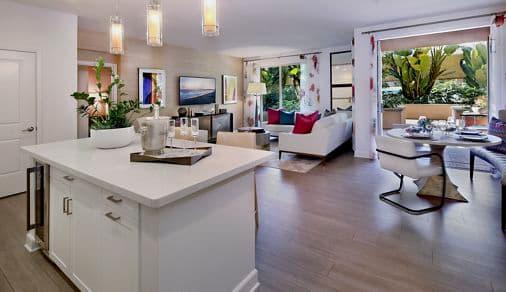 Interior views at Montecito - Villas at Playa Vista Apartment Homes in Los Angeles, CA.