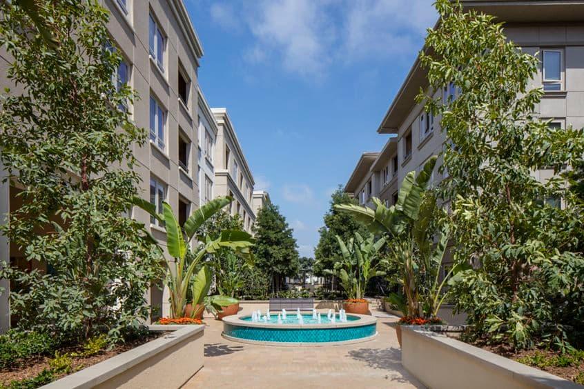 Exterior view of Sausalito - Villas at Playa Vista Apartment Homes in Los Angeles, CA.
