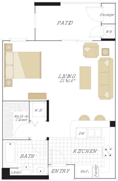 North Park in San Jose - 1 - 3 Bedroom & Studios