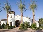 Exterior view of Leasing Center at Esperanza Apartment Homes in Irvine, CA.
