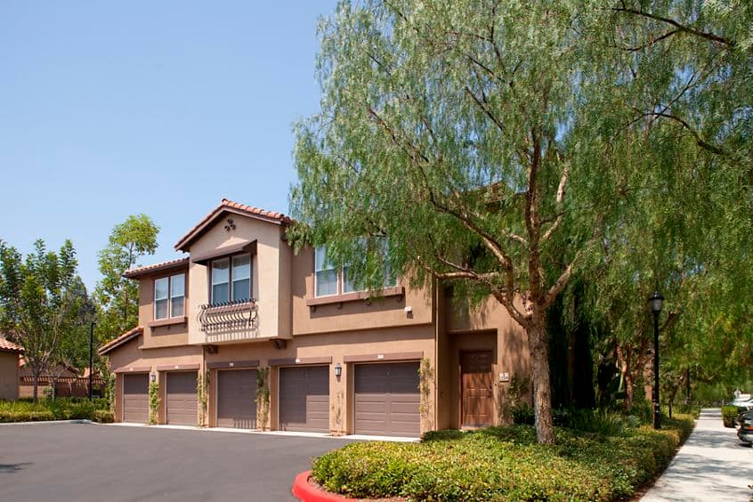 Exterior view of Quail Ridge Apartment Homes at Quail Hill in Irvine, CA.