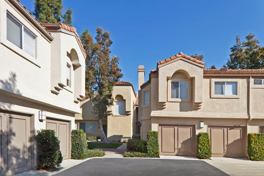 Exterior view of San Carlo Villa in Irvine, CA.