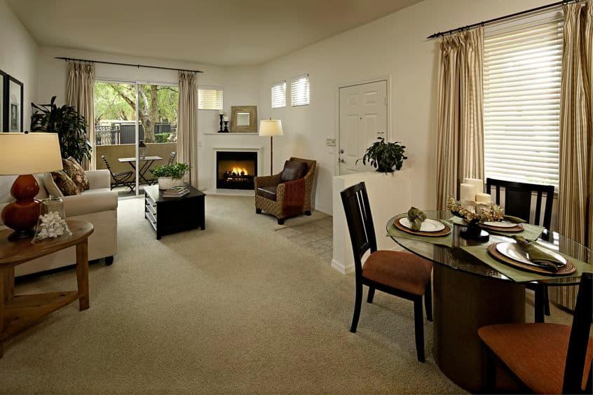 Interior shots of the amenities at the Shadow Oaks apartments. Lamb 2012.