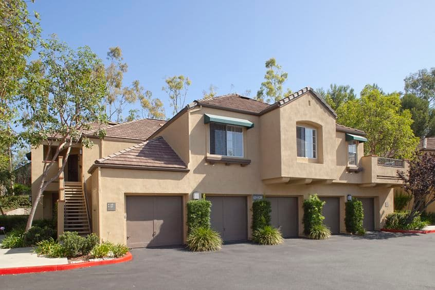 Exterior view of Turtle Rock Canyon Apartment Homes in Irvine, CA.