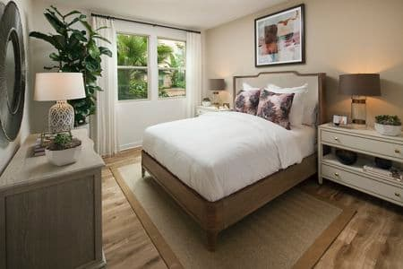 Bathroom views of Westview at Irvine Spectrum Apartment Homes in Irvine, CA.