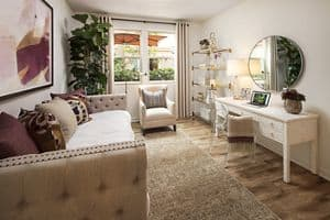 Interior View Of Westview Apartment Homes In Irvine.