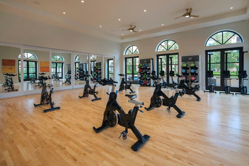 Fitness center view of Westview at Irvine Spectrum Apartment Homes in Irvine, CA