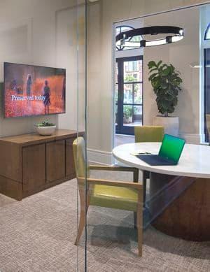Office center view of Westview at Irvine Spectrum Apartment Homes in Irvine, CA
