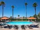 Pool view at Vista Real Apartment Homes in Mission Viejo, CA.
