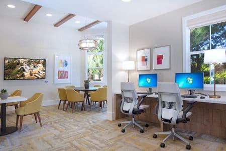 Interior view of at Turtle Ridge Apartment Homes in Newport Beach, CA.