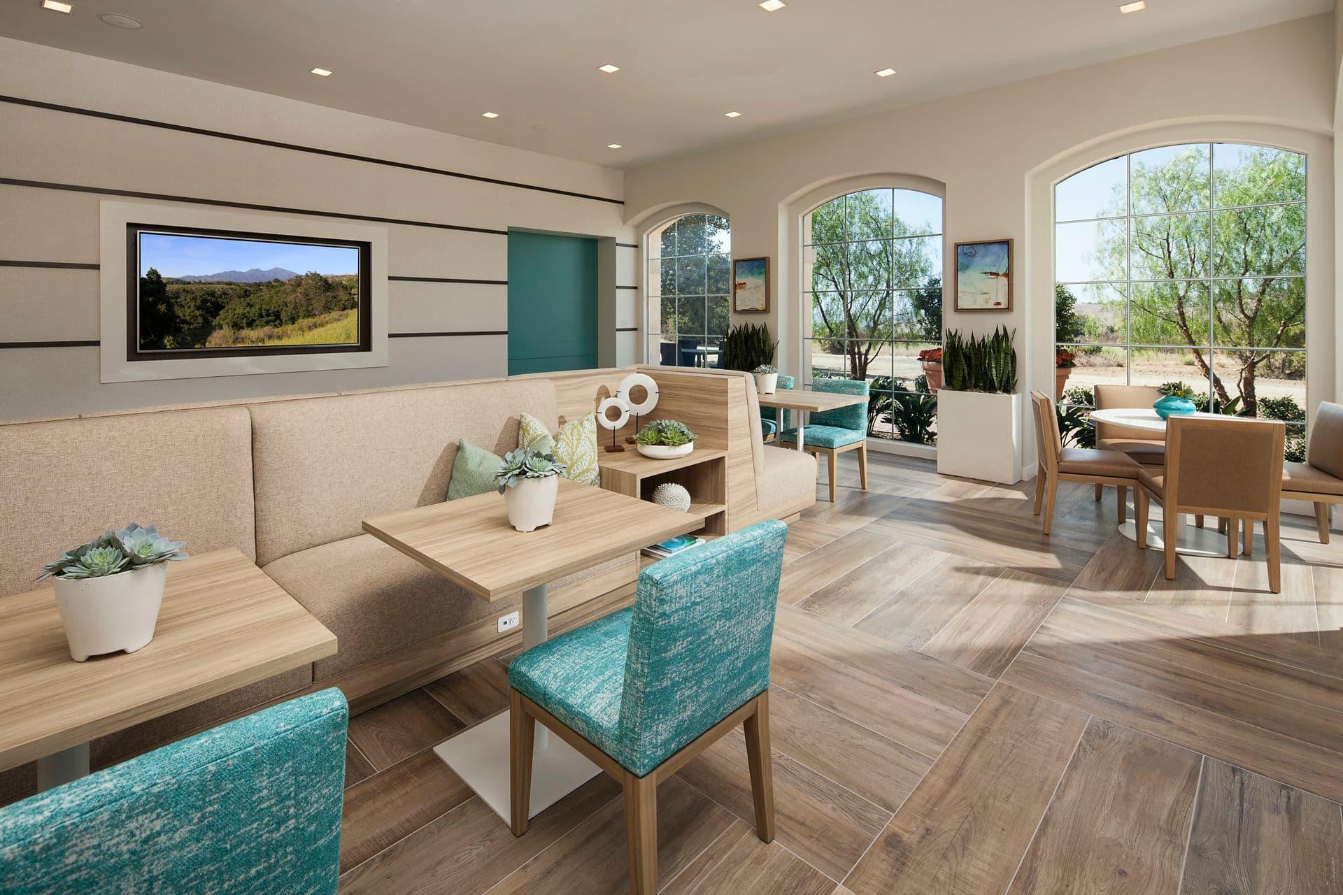 Interior view of Las Flores Apartment Homes in Ranch Santa Margarita.