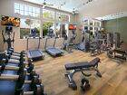 Interior view of fitness center at Marbella Apartment Homes in San Diego, CA.