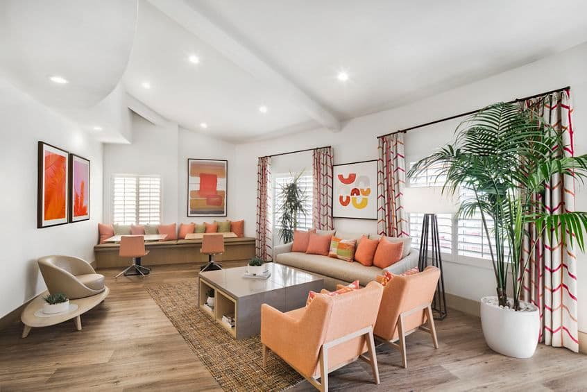 Interior view of The Villas of Renaissance Apartment Homes in San Diego, CA.