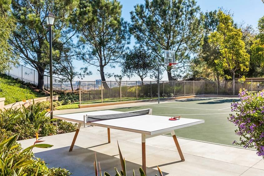 Exterior view of sports court at Torrey Ridge Apartment Homes in San Diego, CA.