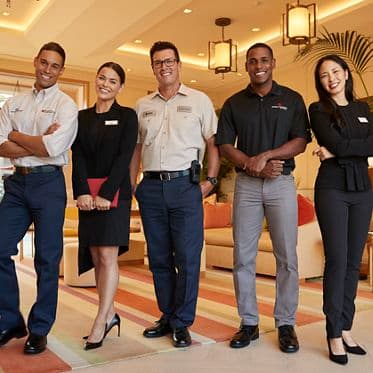 Portrait of Irvine Company employees at Irvine Company Apartment Communities.