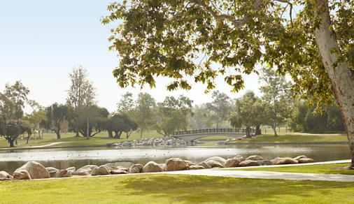 Exterior view of ped pathway at Paseo Westpark in Irvine, CA.