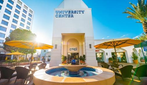Exterior of University Center