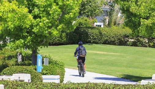 Exterior view of Woodbridge Community in Irvine, CA.