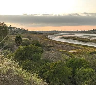 The beautiful Back Bay in Newport Beach, Southern California