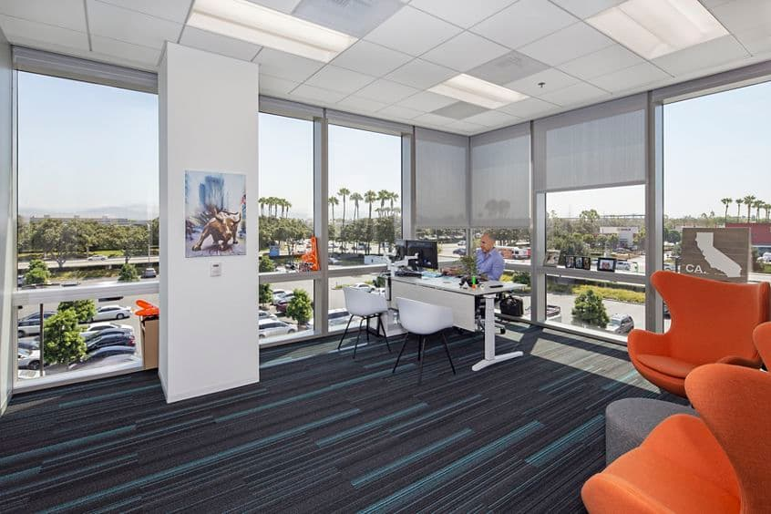 Customer suite photography of Getac at Sand Canyon Business Center - 15495 Sand Canyon Suite 350 in Irvine, CA
