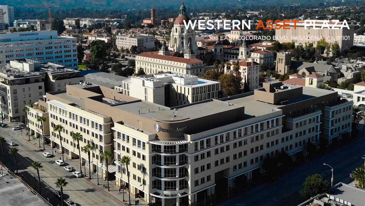 Video thumbnail of Western Asset Plaza at 385 East Colorado Blvd. in Pasadena, CA