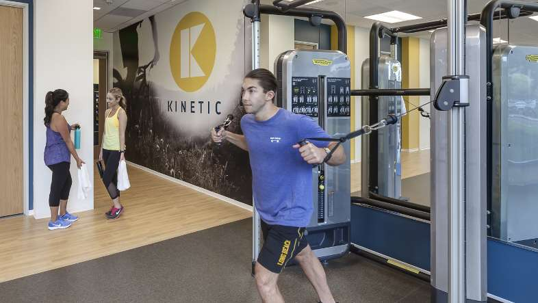 Featuring state-of-the-art equipment by Technogym, KINETIC gives visitors the chance to immerse themselves in a one-of-a-kind-fitness experience.