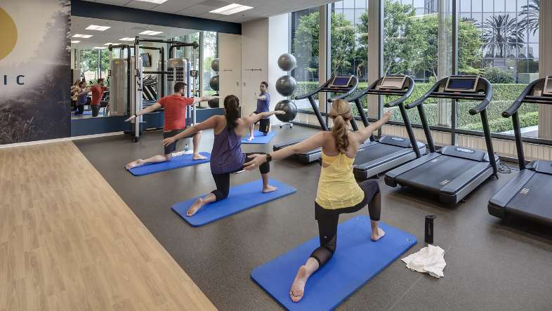 Irvine Towers also offers yoga and bootcamp programs for customers who are looking for more structured group fitness classes.  PreviousNext