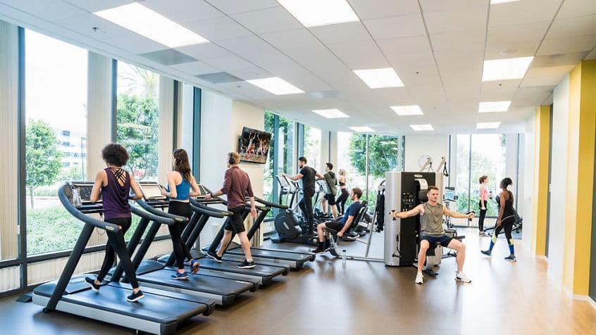 KINETIC fitness center at Irvine Towers, Irvine, CA