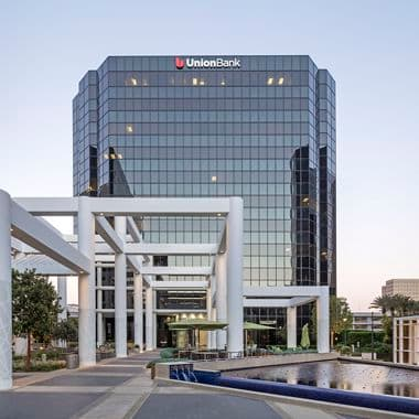 Hero photography of building exteriors at 18300 Von Karman Avenue - Irvine Towers in Irvine, CA
