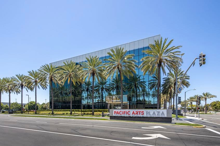 Exterior View of 675 Anton at Pacific Arts Plaza Costa Mesa, CA
