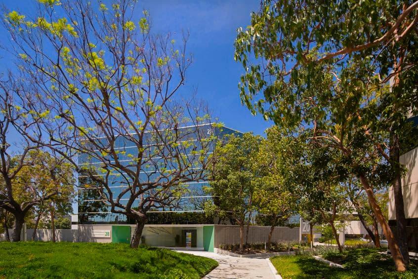 Exterior photography of 28 Executive Park at Venture Park, Irvine, CA.