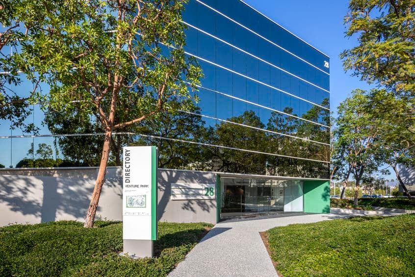 Architectural photography of 28 Executive Park at Venture Park, Irvine, Ca