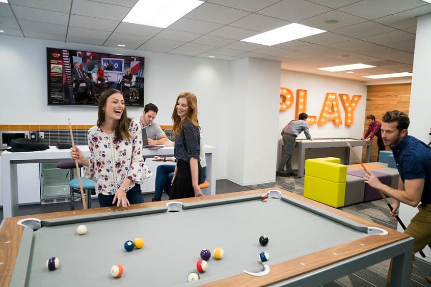 Photography of the Game Room at 20-40 Pacifica