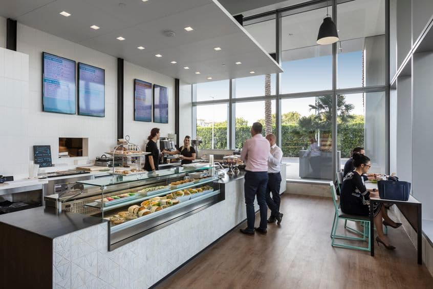 Interior and Exterior photography of Matisse Bistro at 200 Spectrum Center Drive