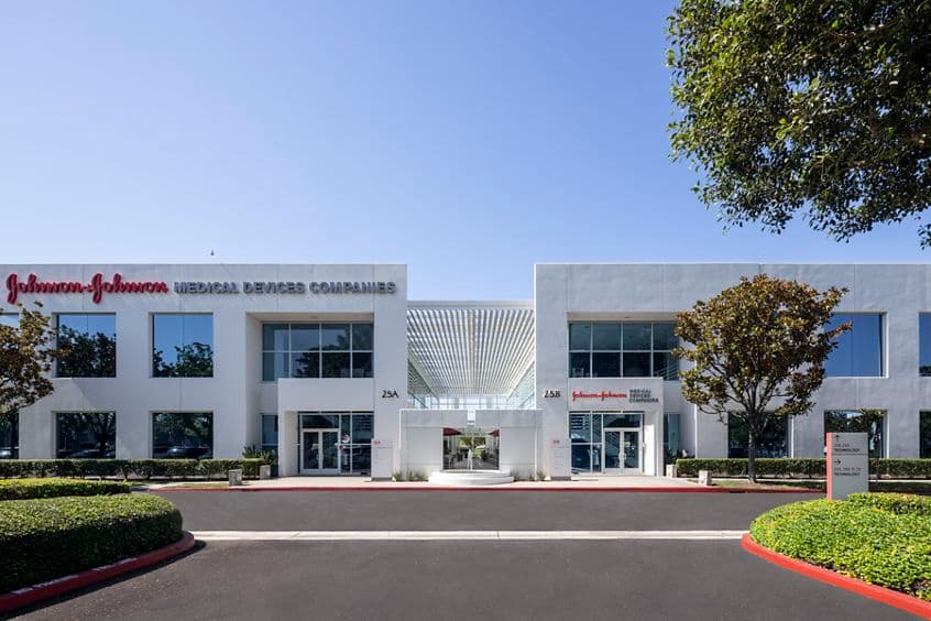 Building hero photography of 25 Technology in Irvine, CA