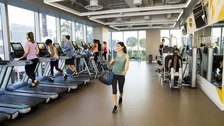 kinetic office fitness and wellness centers by irvine company