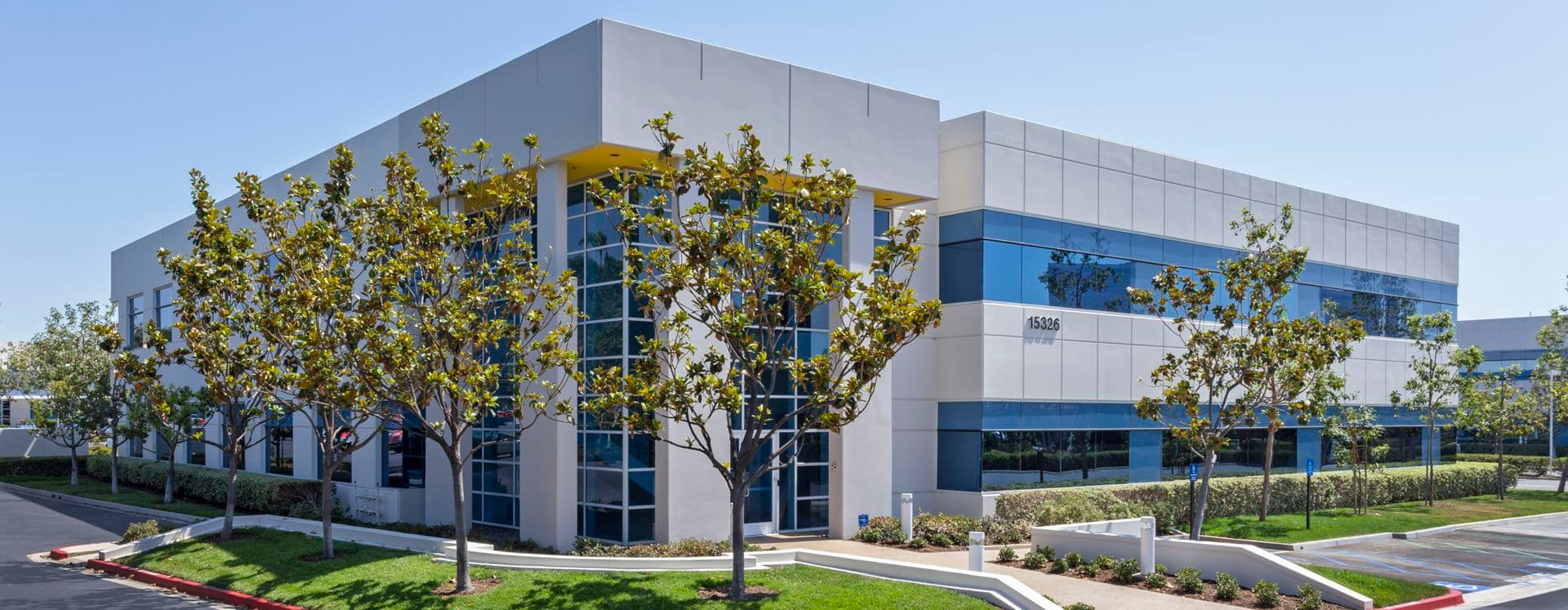 Exterior building photography of 15326 Alton Parkway at Alton/Technology in Irvine, CA
