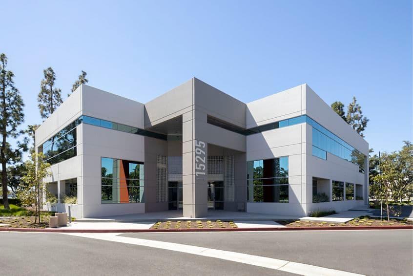 Building hero photography of Alton Plaza - 15295 Alton Parkway in Irvine, CA