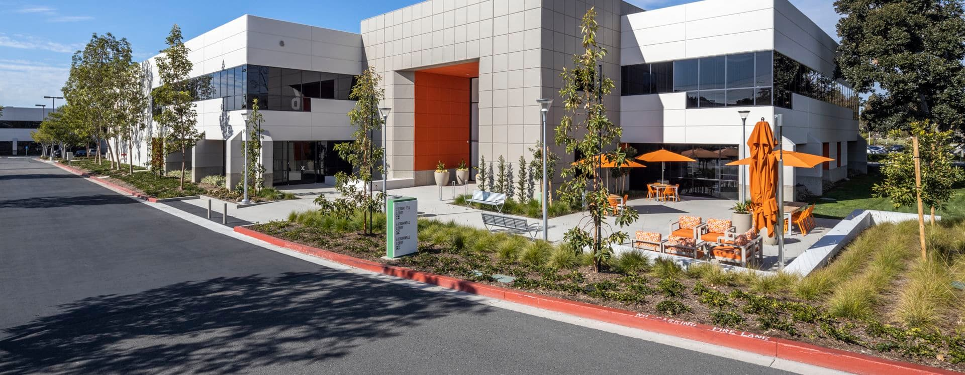Exterior building photography for Bake Technology Park at 6 Cromwell, Irvine, CA