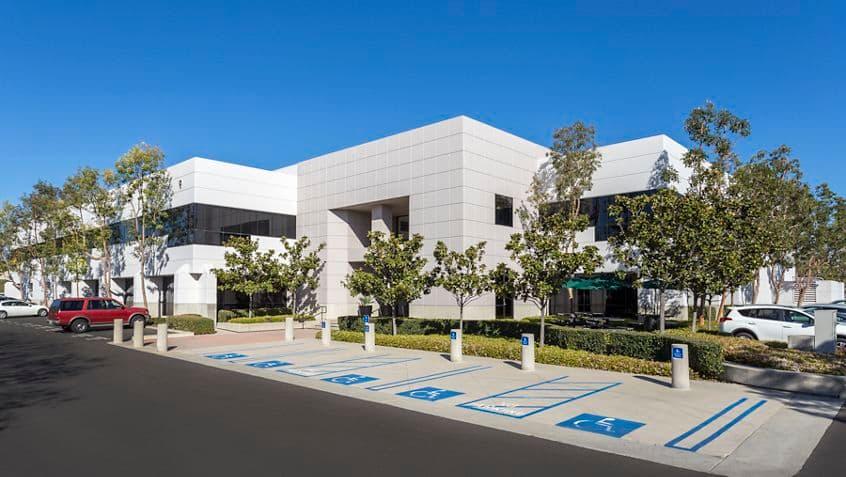 Exterior building photography for Bake Technology Park at 9 Parker, Irvine, CA