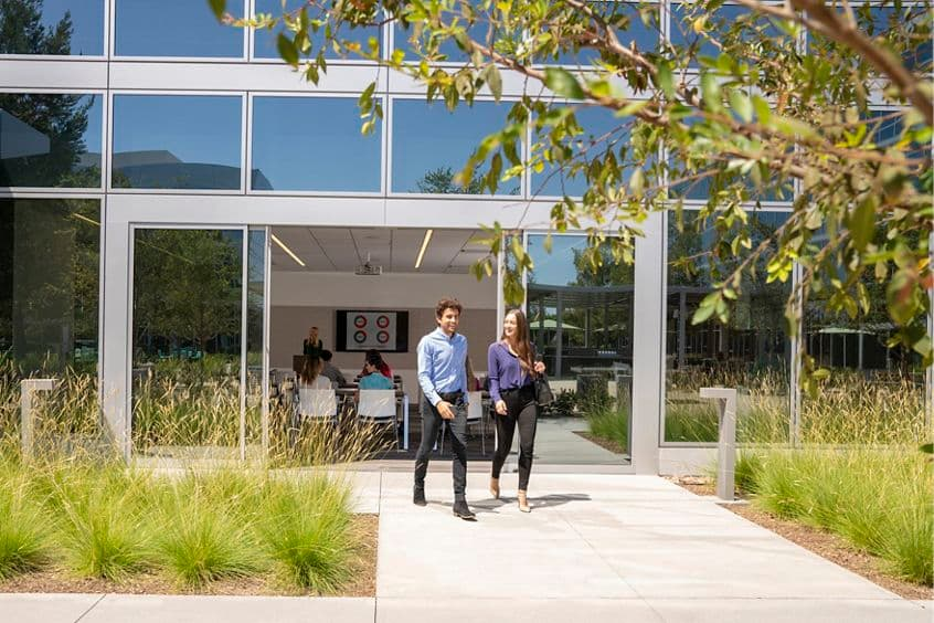 Lifestyle photography of the Conference Center at 530 Technology Drive - Discovery Park in Irvine, CA