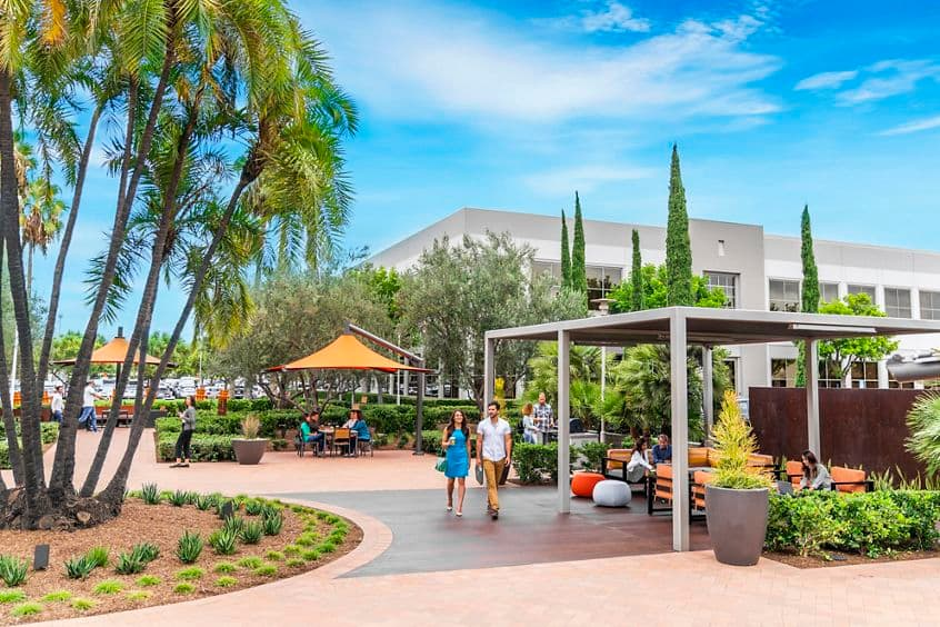 Lifestyle photography of The Commons at 47 Discovery - Discovery Park in Irvine, CA