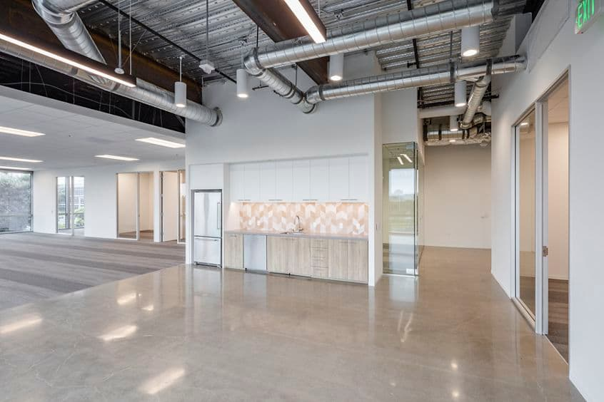 Interior view of Flex Workplace+ Suite 230 in 525 Technology Drive at Discovery Park in Irvine, CA.