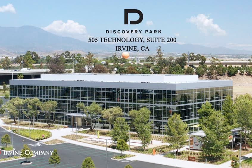 Building photography of Discovery Park - 505 Technology Suite 200 in Irvine, CA