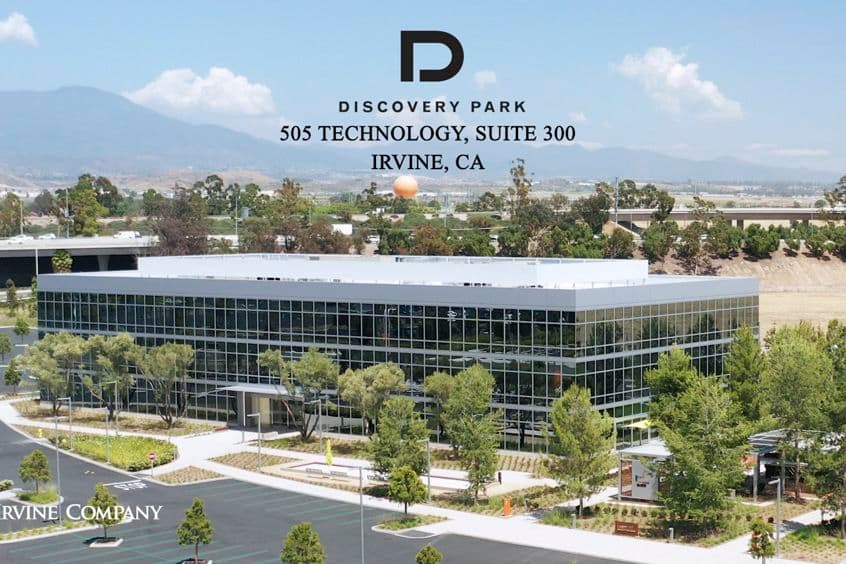 Building photography of Discovery Park - 505 Technology Suite 300 in Irvine, CA