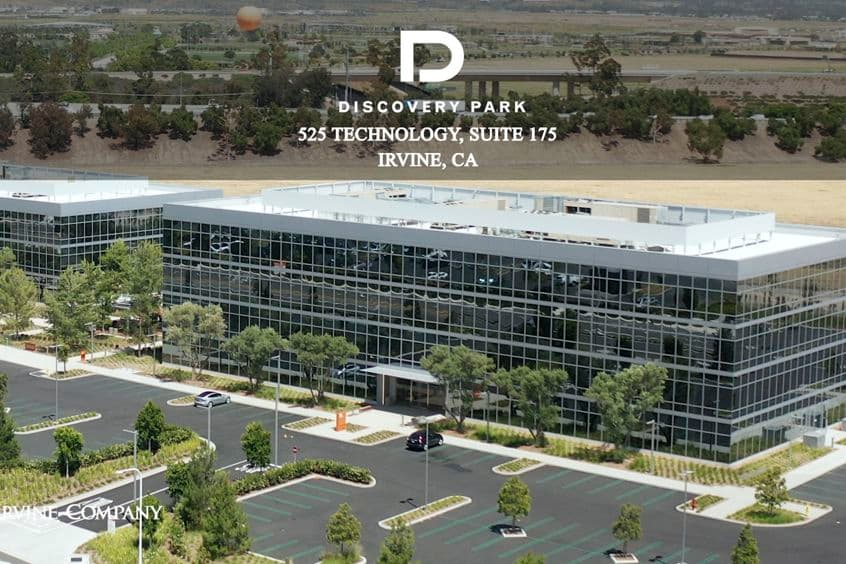 Building photography of Discovery Park - 525 Technology Suite 175 in Irvine, CA