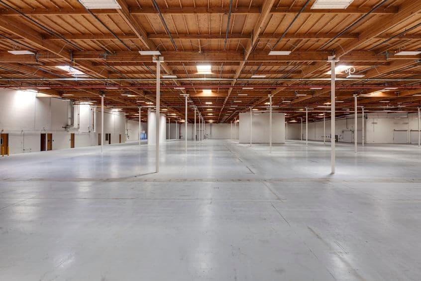 Interior views of 76 Fairbanks office building at Fairbanks Industrial Park in Irvine Spectrum 2. RMA Photography 2015.