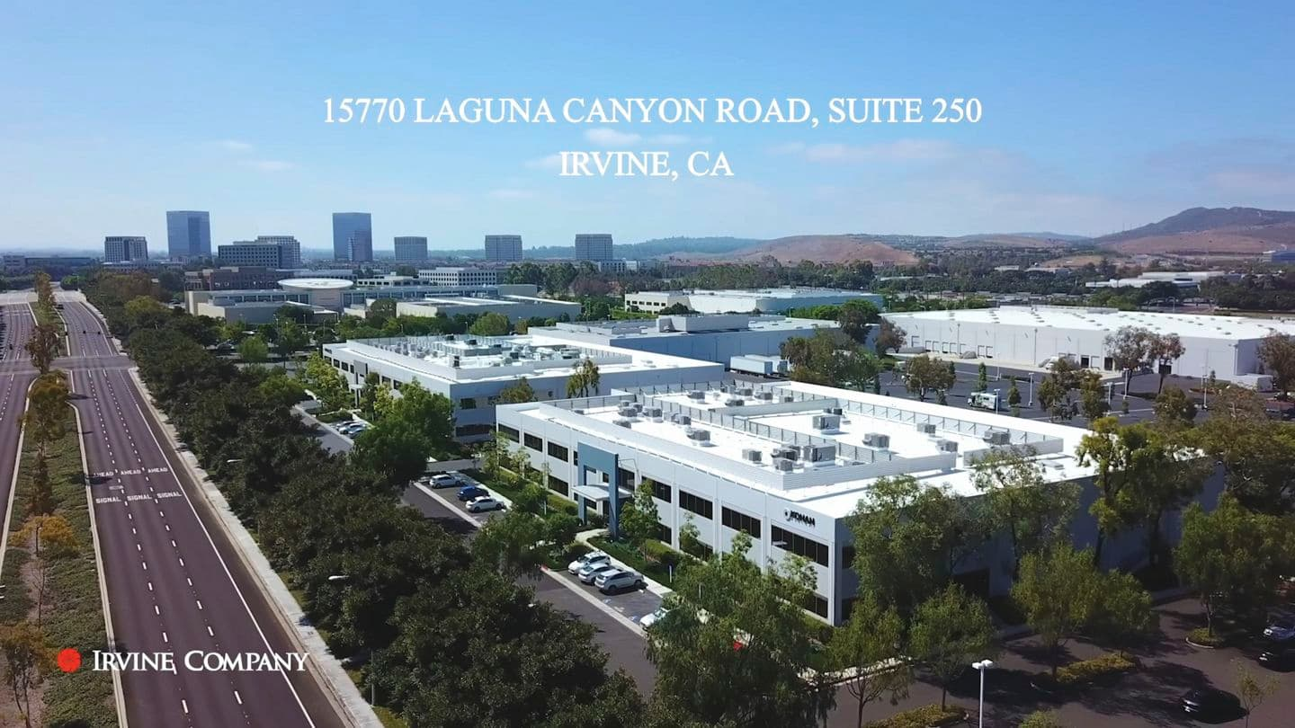 Video still image of 15770 Laguna Canyon, Suite 250 at Laguna Canyon in Irvine, CA