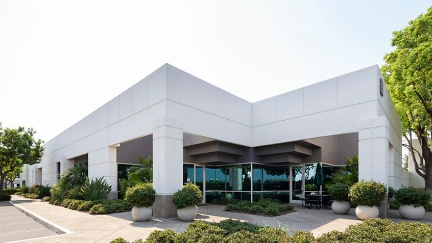 Exterior building photography at One Technology Park in Irvine, CA